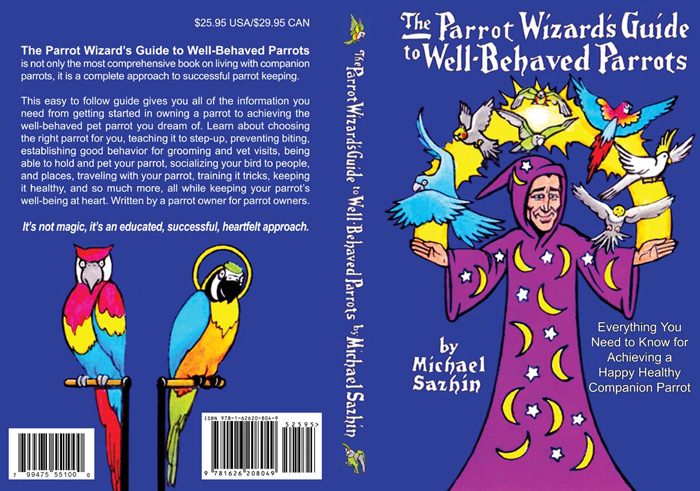 Parrot Wizard Book Cover