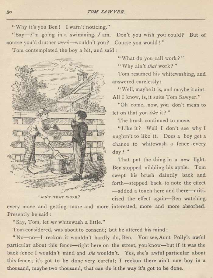 Tom Sawyer Text