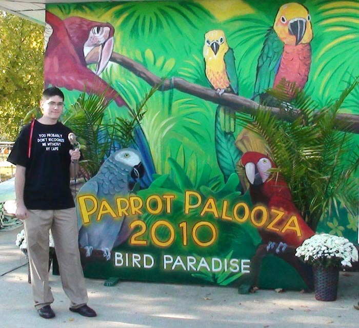 2010 Parrot Palooza Sign