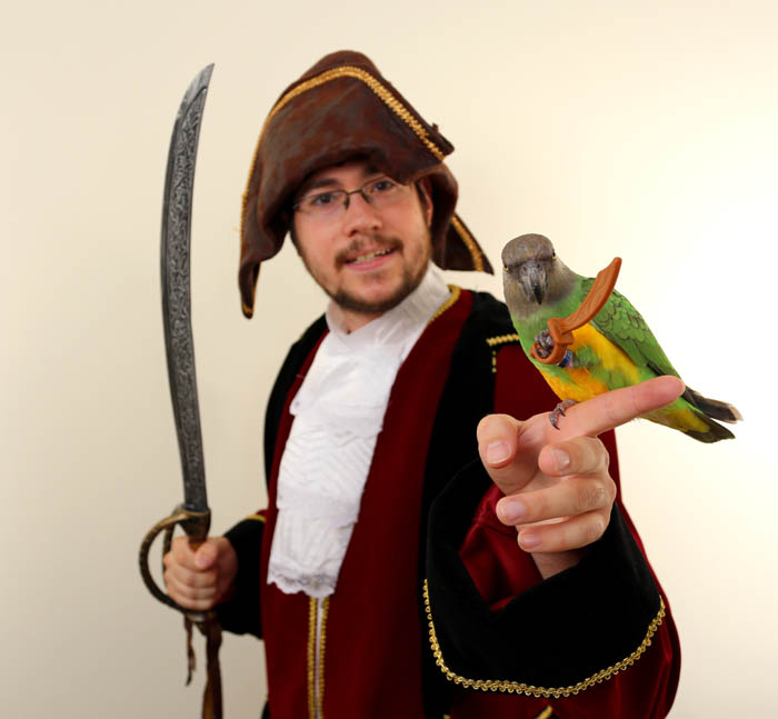 Pirate and Pirate Parrot